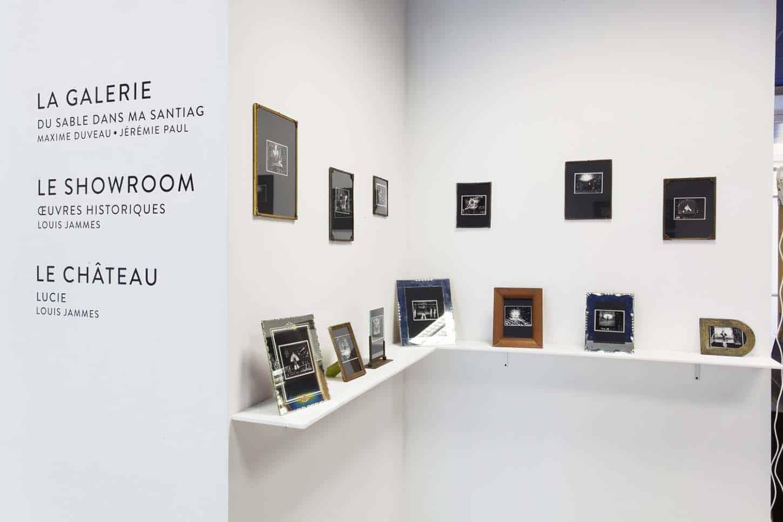 • Le showroom: Oeuvres historiques Louis Jammes, Série les anges de Sarajevo,Sarajevo, Bosnie, 1993Grattage sur Polaroïd, 11 x 11 cm, chaque exemplaire unique