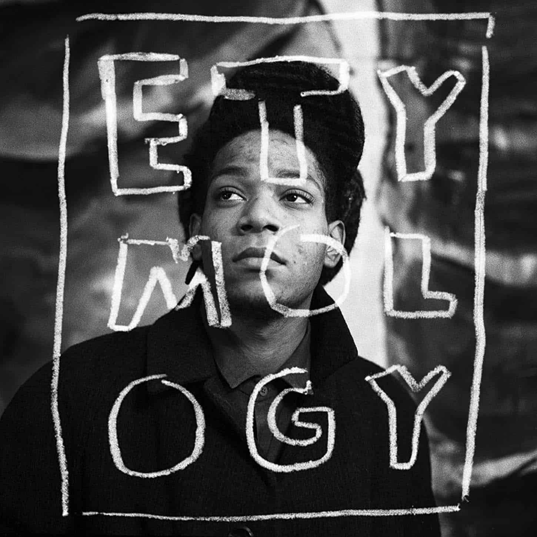 Louis Jammes, ETY MOL OGY,portrait de Jean-Michel Basquiat, 1988,Paris, France,100 x 100 cm5ex + 2ea (dernier exemplaire) Coll. particulière.