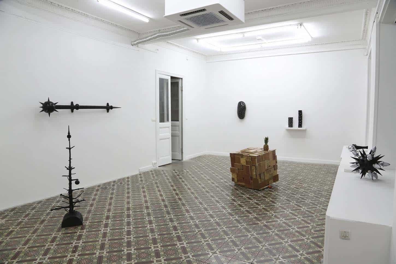 Lionel Scoccimaro, Paradigm shift, vue d'exposition
