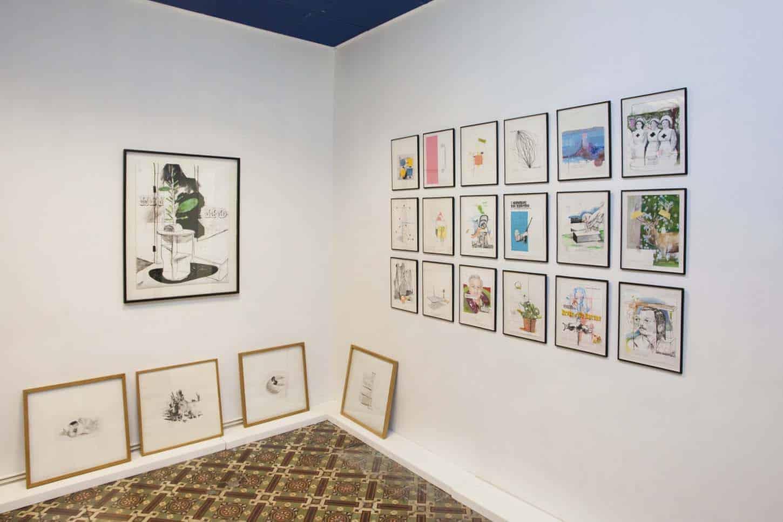 • LeshowroomThierry Lagalla, L'esperiença Plata (The Flat Experience), vue d'exposition