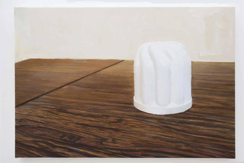 • La galerieThierry Lagalla, Tarte à la crème (en prévision de), Creampie (in advance of),2015, Acrylique sur toile, 38 x 55 cm