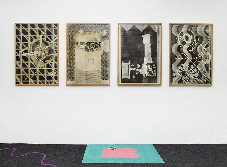 • La galerie : Philip Vormwald, Feuilleton tapis de sol en collaboration avec Baptiste César 26 février - 5 mai 2016