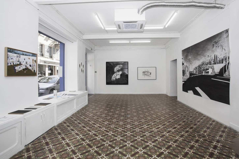 • La galerie Le Noir, le Blanc et le Truand, vue d'exposition