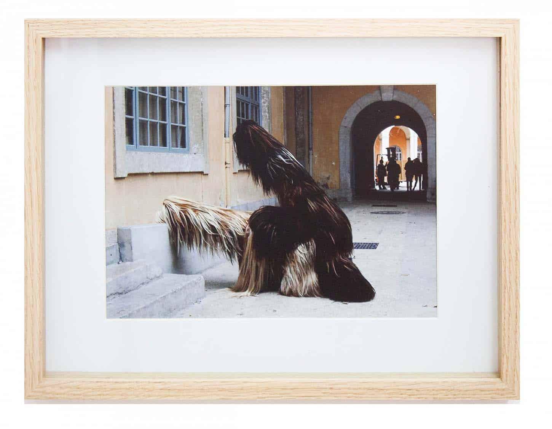 Philippe Lebruman Sans titre (les chiens de Navarre) Photo numérique tirée sur papier Fine Art Pearl 280 gr, 20 x 30 cm