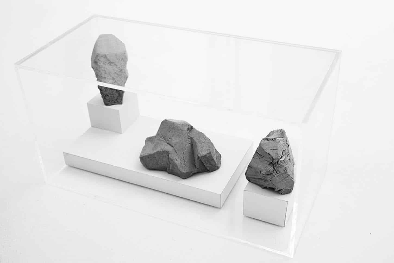 Espace A VENDRE.Vue de l'exposition: Eva Medin - Solstice