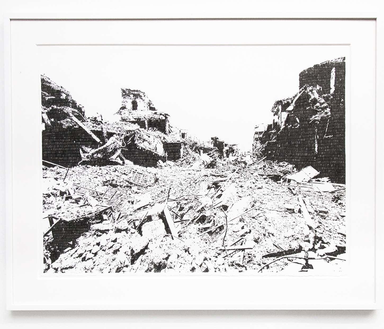 Emmanuel Régent,Pendant qu'il fait encore jour, 2019, encre de Chine sur papier, 56 x 76 cm
