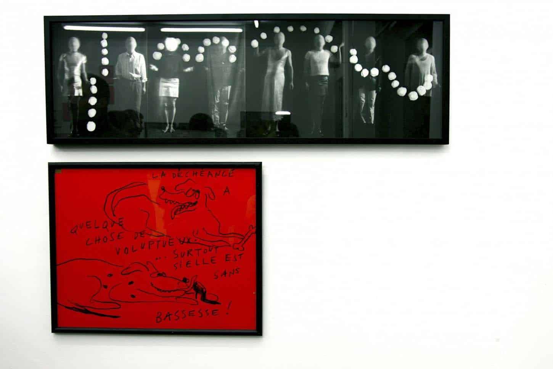 Open, février 2006, première exposition du deuxième lieu d'Espace A VENDRE à Nice,rue Smolett. Gilles Petrognani, Arnaud Labelle-Rojoux