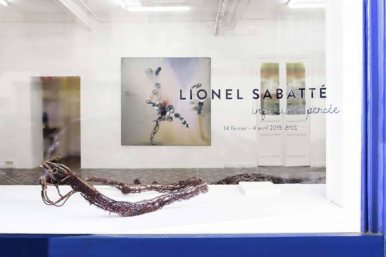 Lionel Sabbaté, Infusion percée, carton de l'exposition