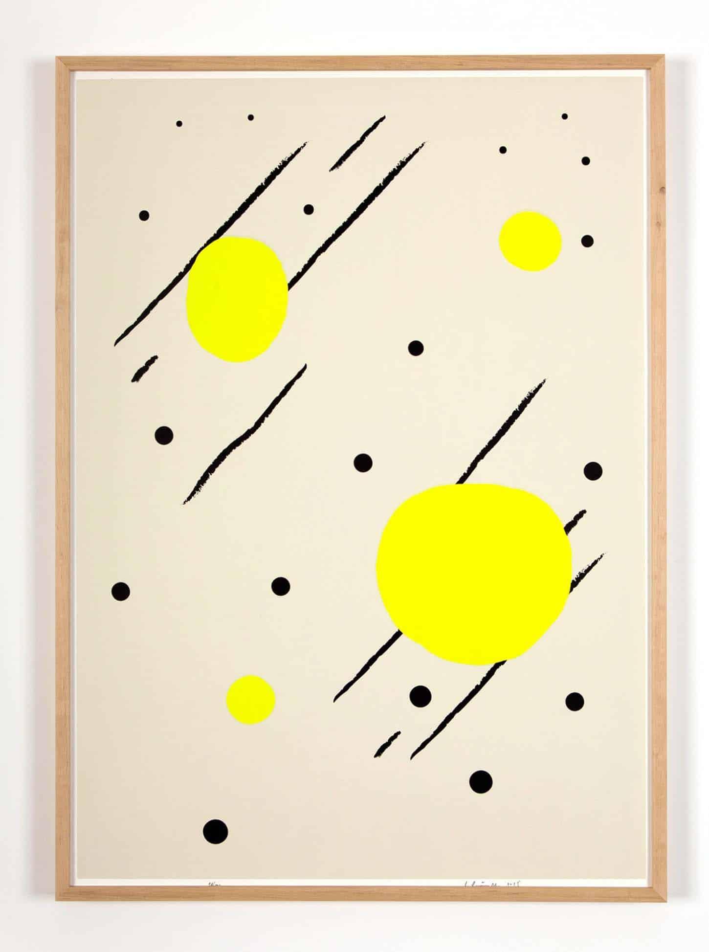 Bruno Peinado, Sans titre Sérigraphie sur Rivoli 300 gr, 50 x 70 cm, 100 exemplaires signés et numérotés, 2015.