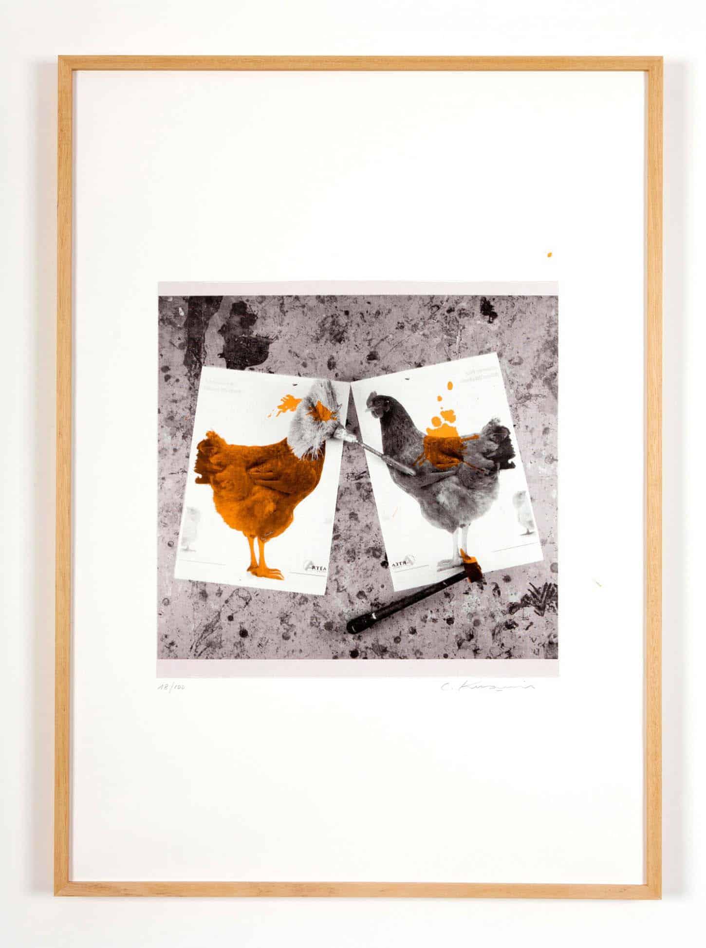 Carlos Kusnir, Sans titre Sérigraphie sur Rivoli 300 gr, 50 x 70 cm, 2015.