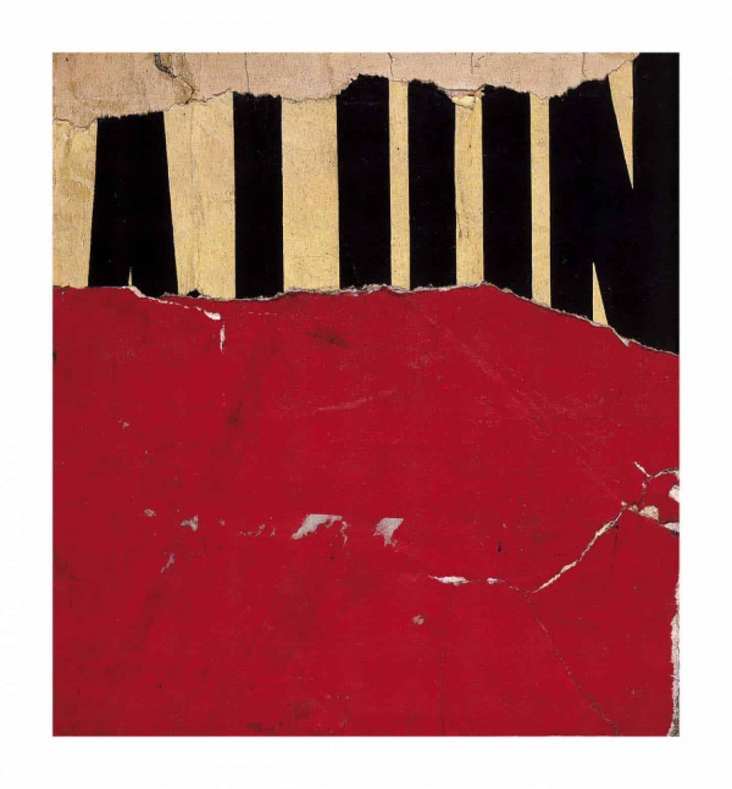 Jacques Villeglé, Rue de la grille Digigraphie sur BFK Rives, 310gr, 60,4 x 55,9 cm, 20 ex, 2013.