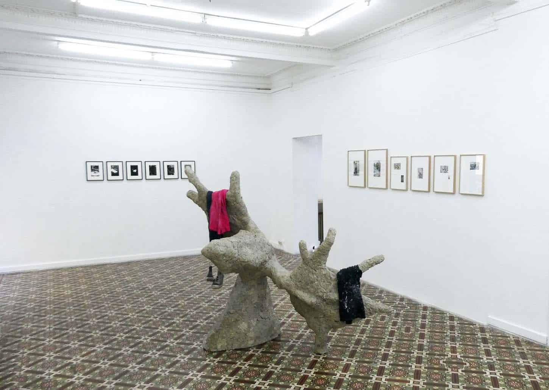 Arnaud Maguet and guests, jusqu'au 17 avrilDans • La galerie : les invités degauche à droite :Julien Tibéri, Karim Ghelloussi et Isabelle Rey