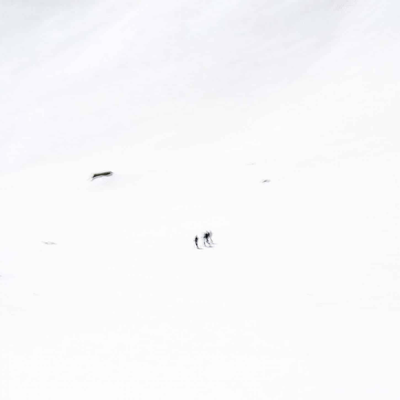 Eric Bourret, Carnet de marche - France, Oisans 2014, tirage jet d'encre baryté 30 x 30 cm, signé - numéroté 1/5