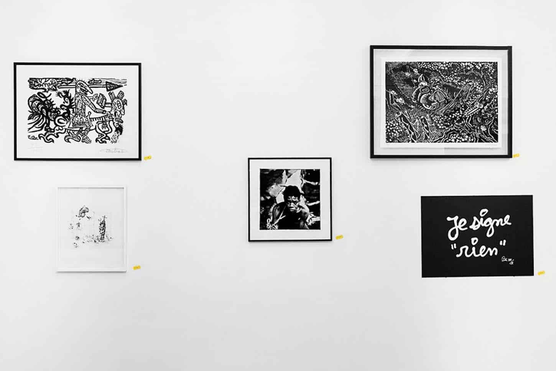 Editions 2016, avec entre autres artistes : Robert Combas, Hervé Di Rosa, Louis Jammes, Ben, Karine Rougier, Thierry Lagalla et Emmanuel Régent