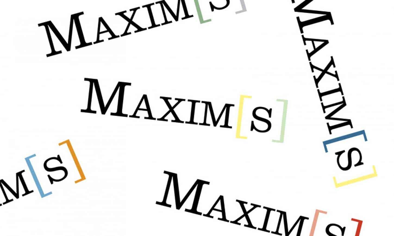 Maxim's, carton de l'exposition