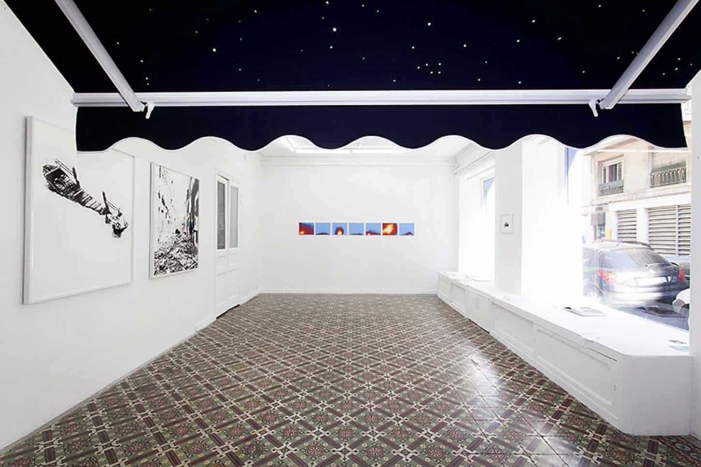 • La galerie Emmanuel Régent, L'entremonde, vue d'exposition