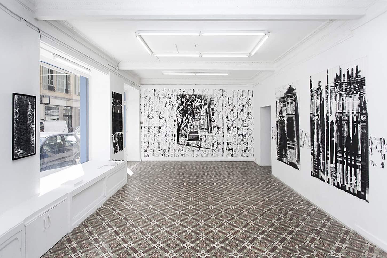 Maxime DuveauVue de l'exposition personnelle:Réouverture de la fameuse partie de billard cosmique13/04 - 08/06/2019