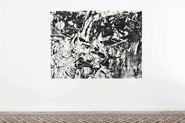 Maxime DuveauAssalit Hollywood, 2019, Wall drawing, 160cmx210cm