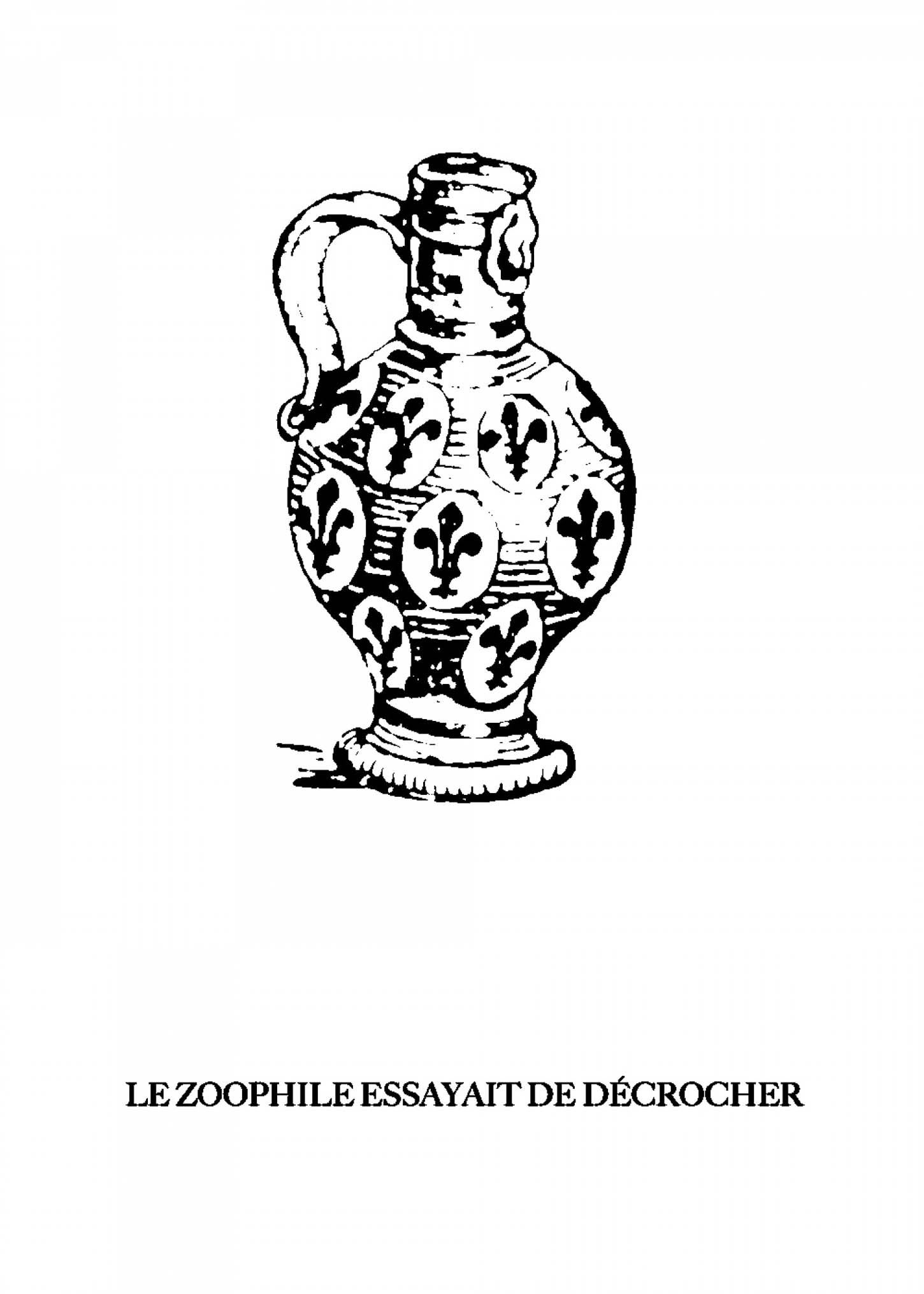 Gerald Panighi, Sérigraphie, 70x50cm, 50 ex/brut de Centaure 300g. Disponible