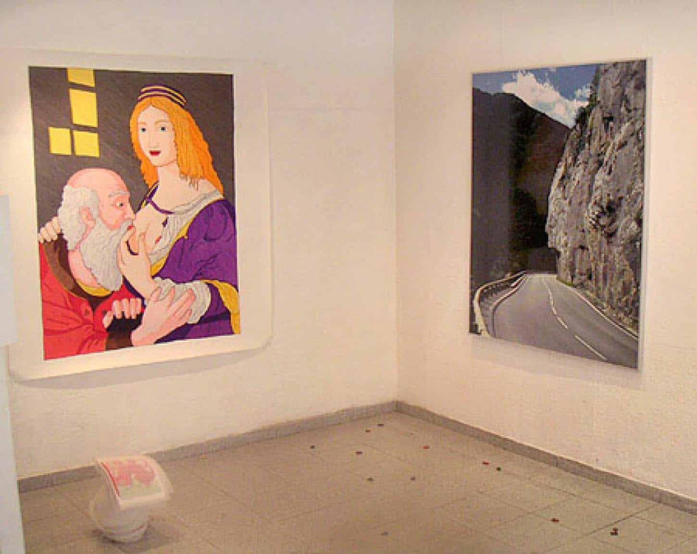 Exposition : Comme une averse de gauche à droite : Florent Mattei, Caroline Bach