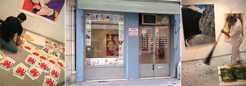 Espace A VENDRE, premier local au 10 rue Assalit juste à côté de l'actuel. Exposition : Comme une averse