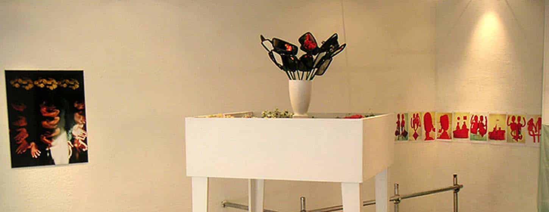 Exposition : Comme une averse de gauche à droite : Gilles Petrognani, Carole Monterrain