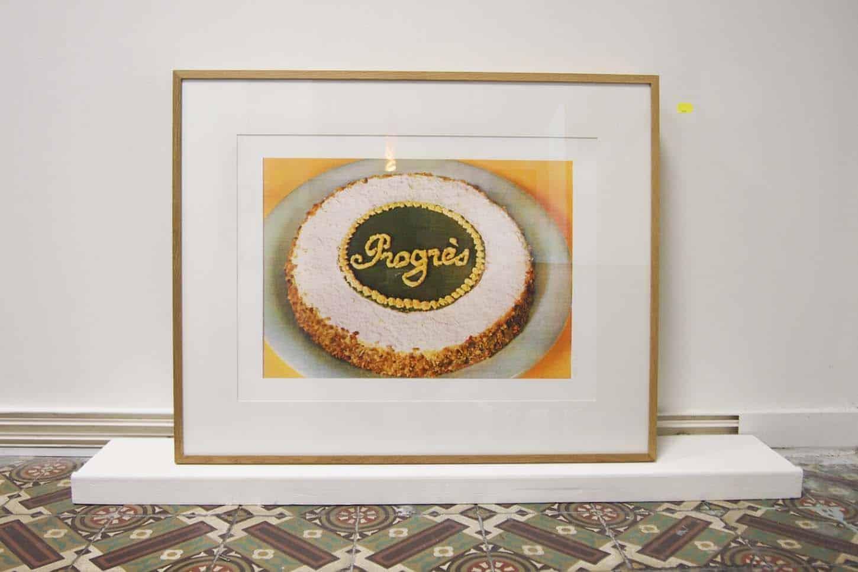 Damien Berthier,Progrès, 2010,Sérigraphie quadrichromie sur Rivoli 300gr,5 x (65 x 50 cm)20 exemplaires signés et numérotés