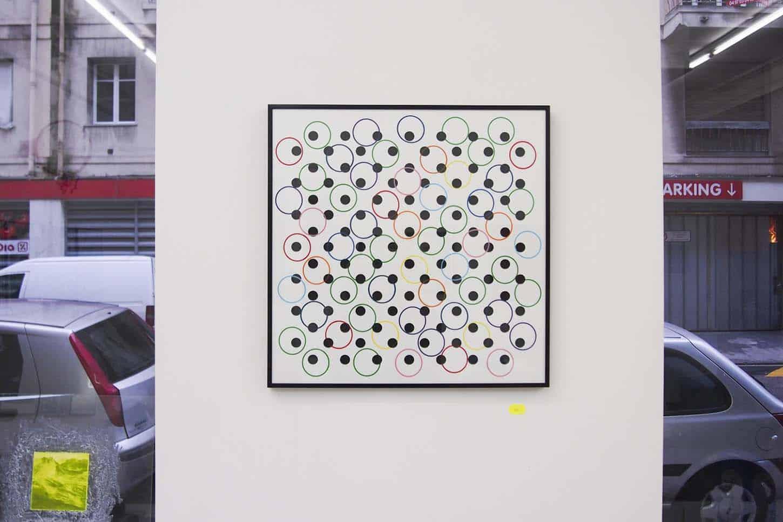 Cédric Teisseire,Let's get cool in the pool, 2013,Sérigraphie sur papier JS swann 300g. 50 x 50 cm, 30 ex.