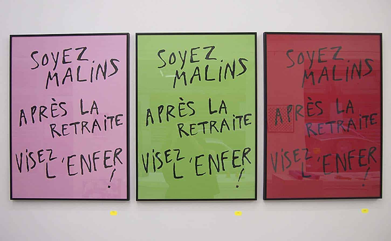 Arnaud Labelle-rojoux,Sans titre, 2013,Sérigraphie sur brut de Centaure 300 gr, 50 x 70 cm