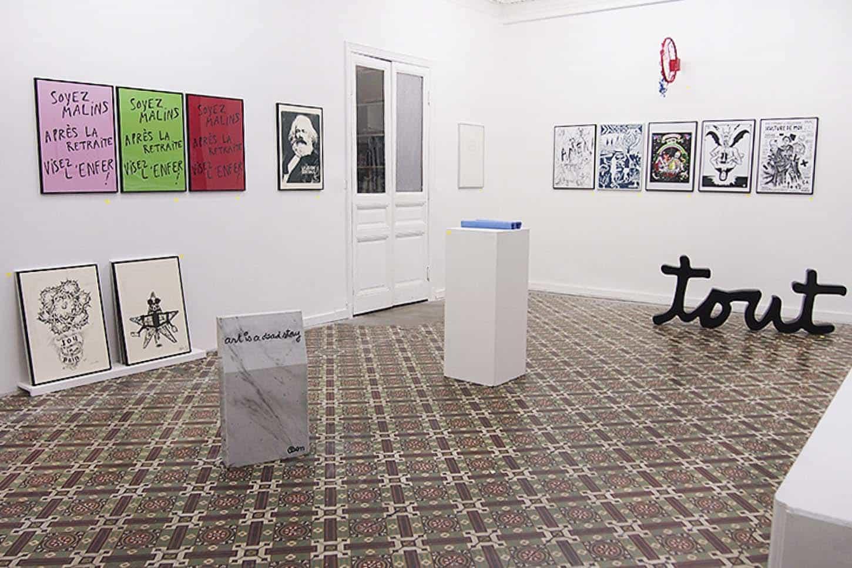 ÉDITIONS 14, vue de l'exposition