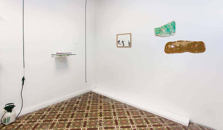 Espace A VENDRE, vue d'ensemble exposition collective, So Select!