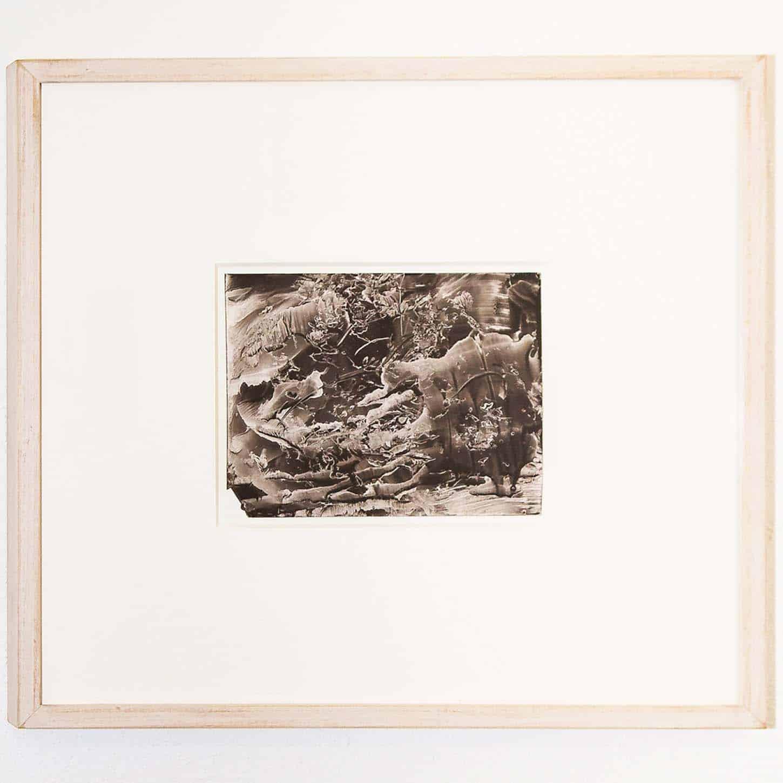 RolandFlexner,SN7, 2006Encre Sumi sur papier, 14 x 18 cm, 36 x 40 cm (encadré)Courtesy of the artist and Galerie Nathalie Obadia, Paris / Brussels