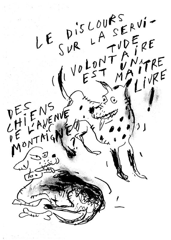 Arnaud Labelle-Rojoux, Sérigraphie sur Brut de Centaure 300gr, 50 x 70 cm. 50 ex.