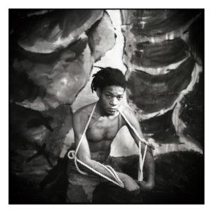 Louis Jammes Basquiat, Tirage Fine Art, 50 x 50 cm. 100ex. - 10ea. Signés et numérotés par l'artiste.